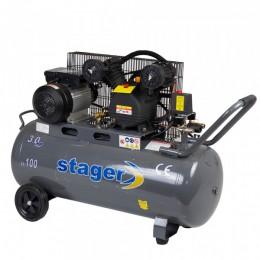 Compresor cu piston Stager HM-V-0.25/100 - lascule.ro