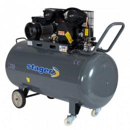 Compresor cu piston Stager HM-V-0.25/250 - lascule.ro