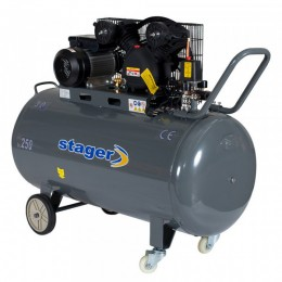 Compresor cu piston Stager HM-V-0.6/370 - lascule.ro