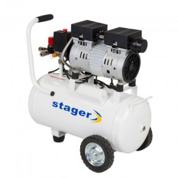 Compresor cu piston Stager HM24JW - lascule.ro